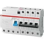 2CSR254001R1504 - Дифференциальный автомат ABB DS204, 50A, тип AC, 30mA, 6кА, 8M, класс С
