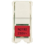 N2192 RJ - Лампа неоновая для переключателей, цвет цоколя красный, АББ Зенит