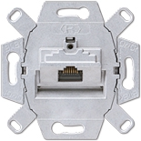 EPUAE8UPOK6 - Механизм розетки компьютерной (RJ45), категория 6, экранированная, Jung