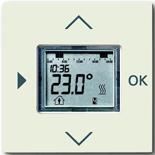 1032-0-0509 (1 шт.) + 6430-0-0394 (1 шт.) - Программируемый терморегулятор ABB Basic 55 (шале-белый)