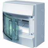 1SLM006501A1201 - Щиток электрический настенный, АВВ Mistral, 8М, IP65 (с клеммным блоком)