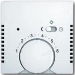 1032-0-0498 (1 шт.) + 1710-0-3867 (1 шт.) - Терморегулятор ABB Basic 55 (белый)