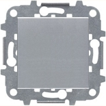 N2200 PL (1 шт.) + N2271.9 (1 шт.) - Заглушка АББ Зенит (серебристый)