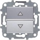 N2261.2 PL (1 шт.) + N2271.9 (1 шт.) - Электронный выключатель жалюзи ABB ZENIT (серебристый)