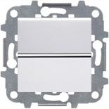 N2210 BL (1 шт.) + N2271.9 (1 шт.) - Переключатель перекрестный, 16А, ABB ZENIT (белый)