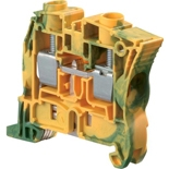 1SNK510150R0000 - ZS16-PE Клемма винтовая АВВ, 16мм², земля (желто-зеленая)