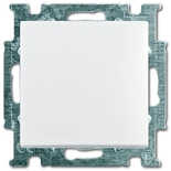 1012-0-2142 - Переключатель одноклавишный ABB Basic 55, (белый)