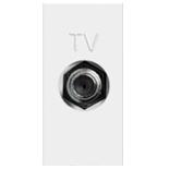 N2150 BL - Розетка TV одиночная АВВ Зенит (белый)