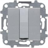 N2207 PL (1 шт.) + N2271.9 (1 шт.) - Вывод кабеля с зажимом, ABB ZENIT (серебристый)