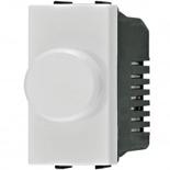 N2160.E BL - Светорегулятор одномодульный с поворотной кнопкой 500Вт, ABB ZENIT (белый)