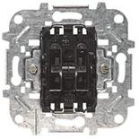 8122 - Механизм переключателя двухклавишного, 10А, ABB Sky