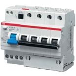 2CSR254001R1064 - Дифференциальный автомат ABB DS204, 6A, тип AC, 30mA, 6кА, 6M, класс С