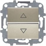 N2261.2 CV (1 шт.) + N2271.9 (1 шт.) - Электронный выключатель жалюзи АВВ Зенит (шампань)