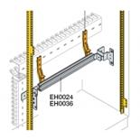 EH0024 - DIN-рейка на 24 модуля (Ш=600мм)+фронтальный кронштейн, ABB