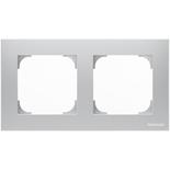 2CLA857200A1301 - Рамка 2-постовая ABB Sky (серебряный)