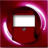 1753-0-0116 - Накладка для акустической розетки ABB Impuls (бордо)