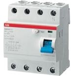2CSF204001R3900 - УЗО ABB, 100A, тип AC, 300mA, трехфазное, серия F204