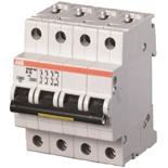 2CDS284001R0061 - Автомат АВВ S204P-D6, 4-полюсный