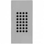 N2119 PL - Зуммер узкий, звуковая мощность на расстоянии 1м - 75Дб, ABB ZENIT (серебристый)