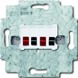0230-0-0464 - Механим розетки для динамиков ABB (белый цоколь)