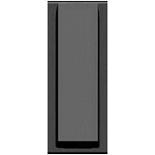 N2107 AN - Вывод кабеля узкий с зажимом, ABB ZENIT (антрацит)