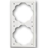 1754-0-4432 - Рамка 2-постовая ABB Impuls (белый бархат)