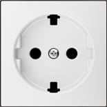 2CLA858890A1101 - Накладка для розеток SCHUKO с плоской поверхностью, ABB SKY (белый)