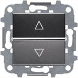 N2261.2 AN (1 шт.) + N2271.9 (1 шт.) - Электронный выключатель жалюзи ABB ZENIT (антрацит)