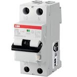 2CSR255040R1164 - Дифференциальный автомат ABB DS201, 16A, тип AC, 30mA, 6кА, 2M, класс С