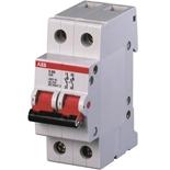 2CDD282101R0016 - Рубильник АВВ E202r, 16A, двухполюсный (красный переключатель)