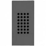 N2119 AN - Зуммер узкий, звуковая мощность на расстоянии 1м - 75Дб, ABB ZENIT (антрацит)