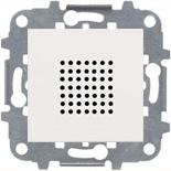 N2219 BL (1 шт.) + N2271.9 (1 шт.) - Зуммер, звуковая мощность на расстоянии 1м - 76Дб, ABB ZENIT (белый)