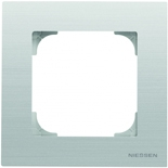 2CLA857100A1401 - Рамка 1-местная ABB Sky (нержавеющая сталь)