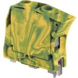 1SNK516150R0000 - ZS35-PE Клемма винтовая АВВ, 35мм², земля (желто-зеленая)