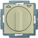 1101-0-0927 - Выключатель жалюзи с поворотной ручкой, без фиксации (шампань)