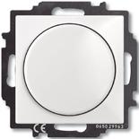 6515-0-0842 - Диммер Busch-Dimmer 60-400 Вт проходной ABB Basic 55 (белый)