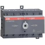 1SCA105402R1001 - Реверсивный рубильник АВВ OT80F3C, 80A, 3-полюсный