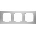 2CLA857300A1301 - Рамка 3-постовая ABB Sky (серебряный)