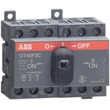 1SCA104863R1001 - Реверсивный рубильник ABB OT25F3C, 25А, 3-полюсный