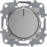 N2240.3 PL (1 шт.) + N2271.9 (1 шт.) - Терморегулятор для теплого пола, АВВ Зенит (серебристый)