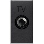 N2150 AN - Розетка TV одиночная ABB Zenit (антрацит)