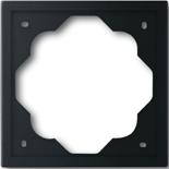 1754-0-4424 - Рамка однопостовая ABB Impuls (чёрный бархат)