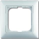 1725-0-1479 - Одноместная рамка с декоративной накладкой ABB Basic 55 (белая)
