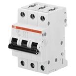 2CDS273001R0064 - Автоматический выключатель АВВ S203M-C6, 3-полюсный