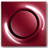 1413-0-0871+1753-0-0120 - Кнопка с перекидным контактом без нейтрали с клавишей ABB Impuls (бордо)