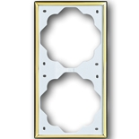 1754-0-3542 - Рамка 2-постовая ABB Impuls (золото)