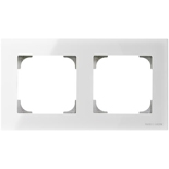 2CLA857200A3001 - Рамка 2-постовая ABB Sky (белое стекло)