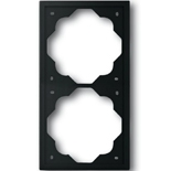 1754-0-4425 - Рамка 2-постовая ABB Impuls (чёрный бархат)