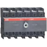 1SCA105037R1001 - Реверсивный рубильник АББ OT125F3C, 125A, трёхполюсный