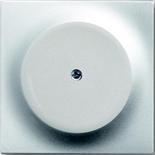1753-0-0035 - Заглушка с суппортом АББ Импульс (серебристый металлик)